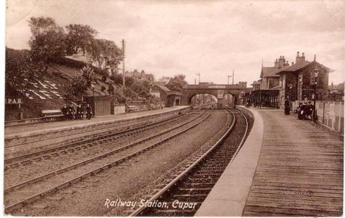 Railway Station, Cupar